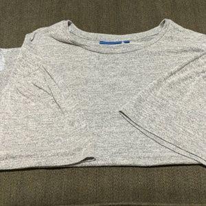 Apt. 9 short flutter sleeve sweater.